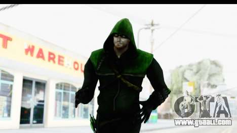 Injustice God Among Us - Green Arrow TV Show for GTA San Andreas