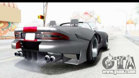 GTA 5 Bravado Banshee 900R Carbon Mip Map for GTA San Andreas back left view