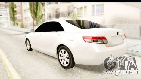 Toyota Camry GL 2011 for GTA San Andreas left view