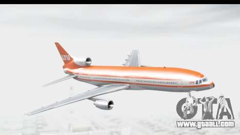 Lockheed L-1011-100 TriStar LTU for GTA San Andreas back left view