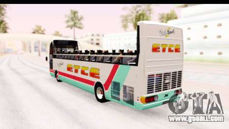 Bus Tours Dic Megadic 4x2 ETCE for GTA San Andreas left view