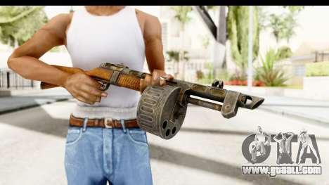 The Terrible Shotgun for GTA San Andreas third screenshot