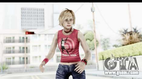 Silent Hill 3 - Heather Sporty Red Silent Hill for GTA San Andreas