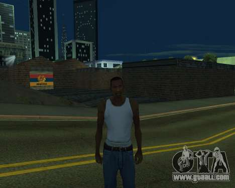 New garage Armenia for GTA San Andreas fifth screenshot