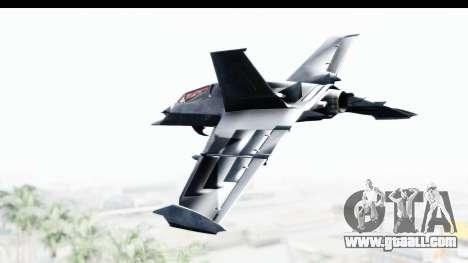 Batman Arkham Origins - Batwing for GTA San Andreas left view