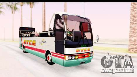 Bus Tours Dic Megadic 4x2 ETCE for GTA San Andreas right view