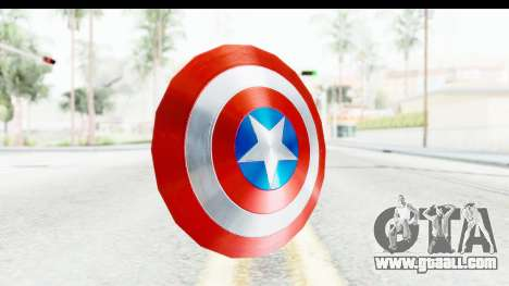 Capitan America Shield AoU for GTA San Andreas