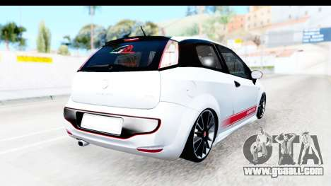 Fiat Punto Abarth for GTA San Andreas back left view