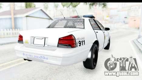 Sri Lanka Police Car v3 for GTA San Andreas right view