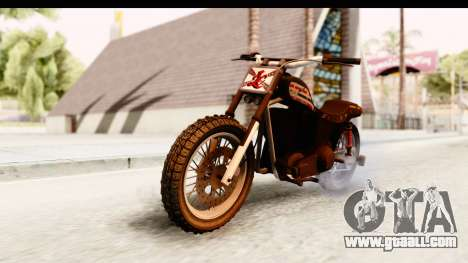 GTA 5 Western Cliffhanger Custom v1 IVF for GTA San Andreas right view