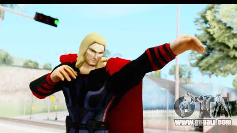 Marvel Heroes - Thor (The Avengers) for GTA San Andreas