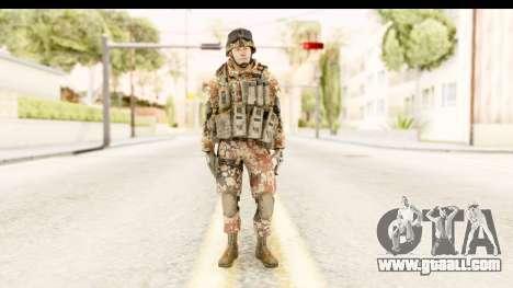 Danish Soldier for GTA San Andreas second screenshot