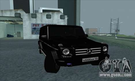 Mercedes-Benz G55 for GTA San Andreas left view