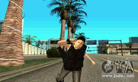 Female trainer SWAT for GTA San Andreas eighth screenshot