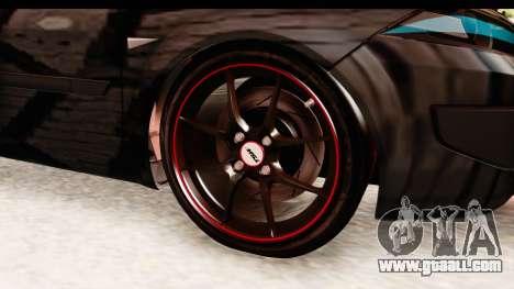 Renault Megane Spyder Full Tuning v2 for GTA San Andreas back view