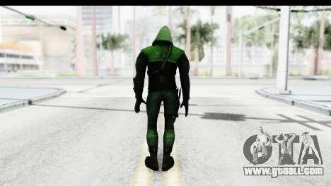 Injustice God Among Us - Green Arrow TV Show for GTA San Andreas third screenshot