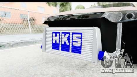 Honda Accord 2010 JDM for GTA San Andreas inner view