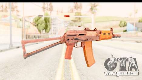 AKS-74U for GTA San Andreas second screenshot