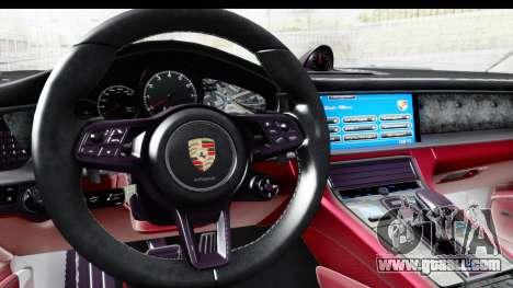 Porsche Panamera 4S 2017 v1 for GTA San Andreas right view
