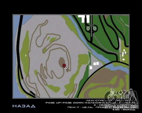 Armenian Flag On Mount Chiliad V-2.0 for GTA San Andreas eighth screenshot