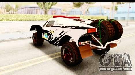 GTA 5 Desert Raid SA Lights PJ for GTA San Andreas upper view