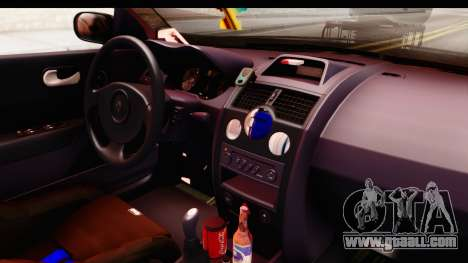 Renault Megane Spyder Full Tuning v2 for GTA San Andreas side view