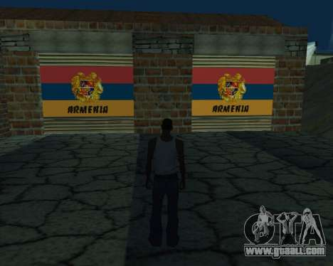 New garage Armenia for GTA San Andreas
