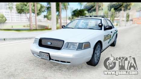 Ford Crown Victoria 2009 Southern Justice for GTA San Andreas