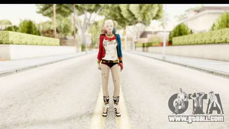 Suicide Squad - Harley Quinn for GTA San Andreas second screenshot