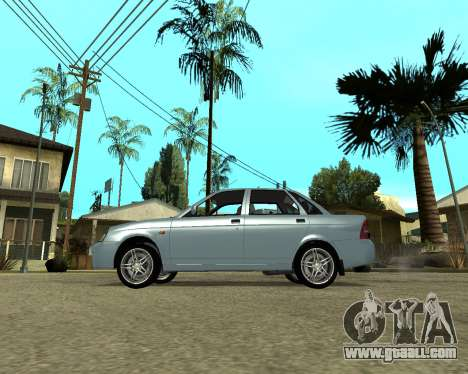 Lada Priora Armenia for GTA San Andreas left view