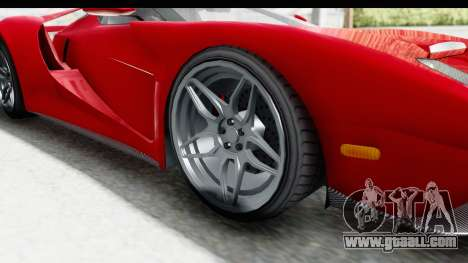 GTA 5 Vapid Bullet Face FMJ for GTA San Andreas back view