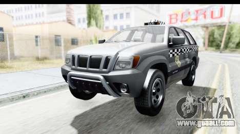 GTA 5 Canis Seminole Taxi for GTA San Andreas