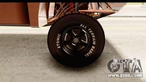 GTA 5 Desert Raid SA Lights PJ for GTA San Andreas back view