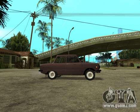 ZAZ 968M Armenia for GTA San Andreas right view