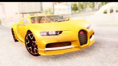 Bugatti Chiron 2017 v2.0 Updated for GTA San Andreas