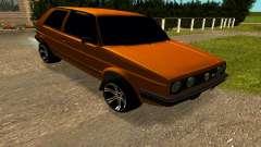 Volkswagen Golf 2 for GTA San Andreas