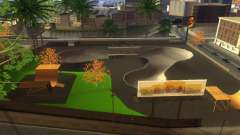 New textures of a skate Park and hospital