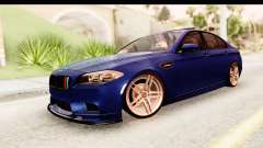 BMW M5 F10 sedan for GTA San Andreas