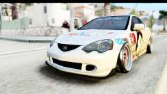 Acura RSX Type S 2002 Nisekoi Itasha for GTA San Andreas