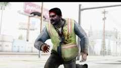 Left 4 Dead 2 - Zombie Baggage Handler for GTA San Andreas