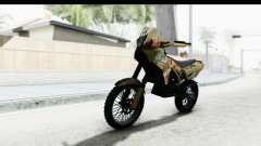 GTA 5 Nagasaki BF400 Custom v1 IVF for GTA San Andreas