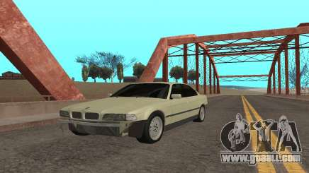 BMW 730 for GTA San Andreas