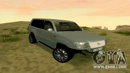 Toyota Land Cruiser 100 for GTA San Andreas