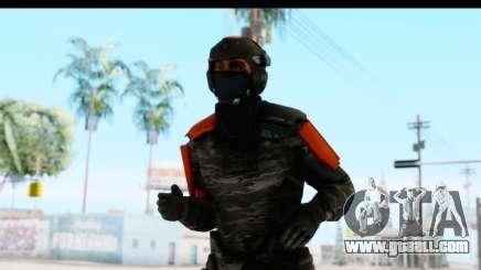 Homefront The Revolution - KPA v4 Camo for GTA San Andreas