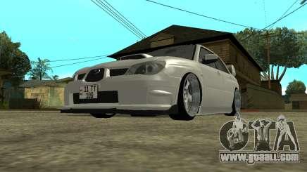 Subaru Impreza Armenian for GTA San Andreas