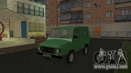 LuAZ 969М v2 for GTA San Andreas