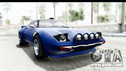 GTA 5 Lampadati Tropos Rallye No Headlights IVF for GTA San Andreas