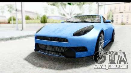 GTA 5 Ocelot Lynx IVF PJ for GTA San Andreas