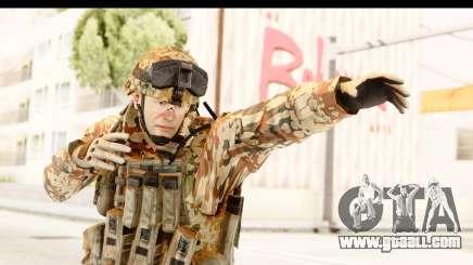 Danish Soldier for GTA San Andreas