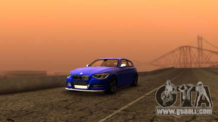 BMW M135i ISlaite Edition for GTA San Andreas